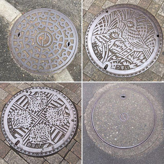 府中市のマンホール #manhole #manholejp #人孔蓋