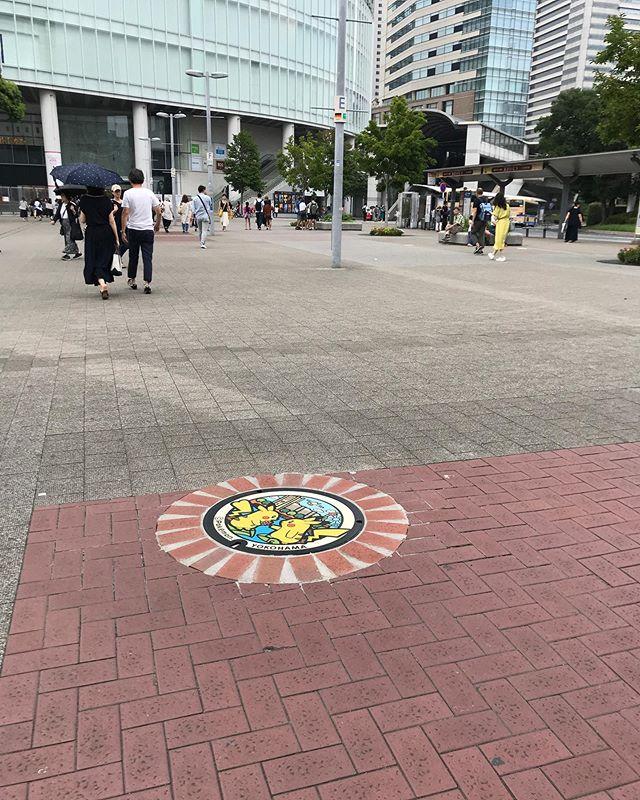 桜木町 ポケモンマンホール #manhole #manholejp #マンホール