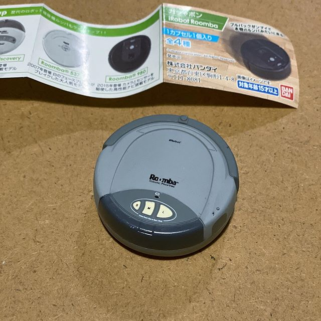 ガシャポンiRobot Roomba