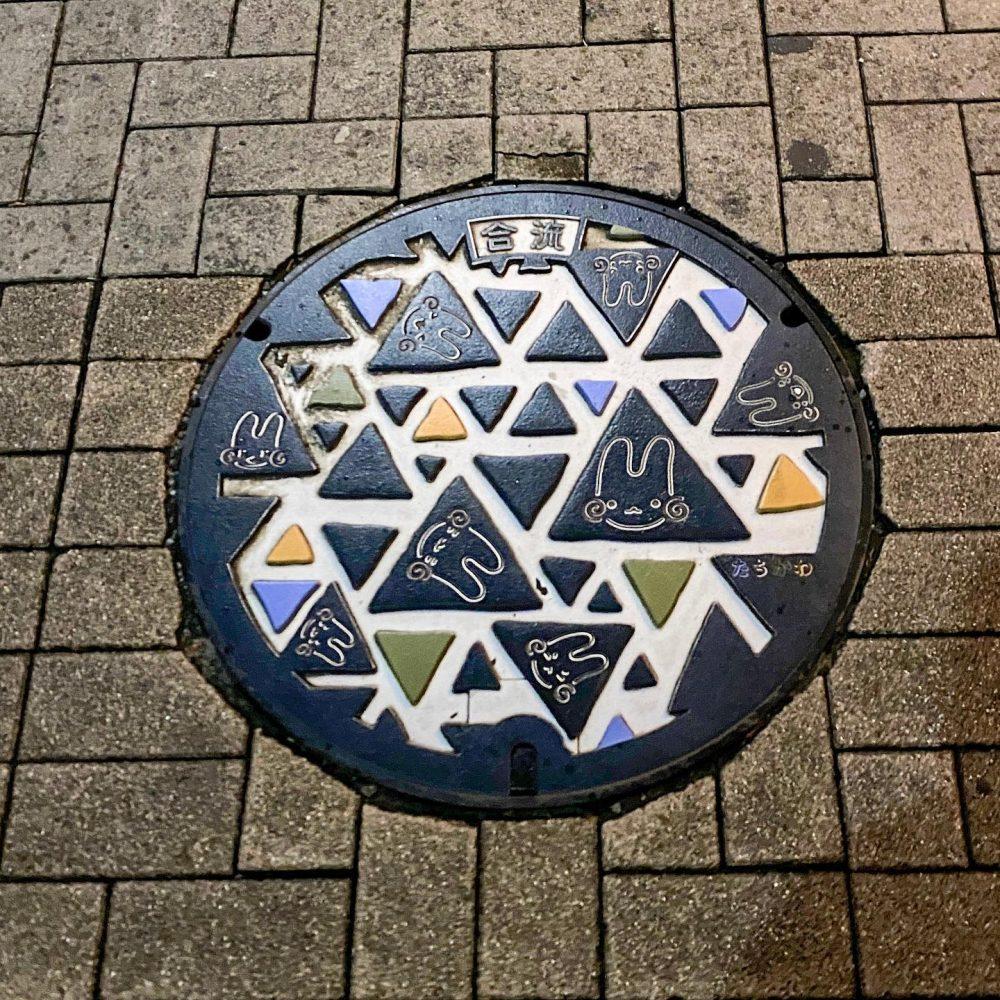 立川市 くるりんマンホール第3弾 #manhole #マンホール #manholejp